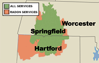 Our Massachusetts and Connecticut Service Area