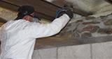Spray foam insulation installed in Springfield, Springfield homes